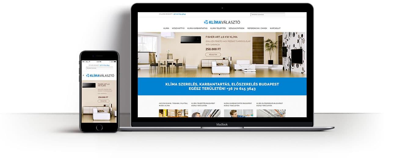 weboldal-keszites-klimavalaszto